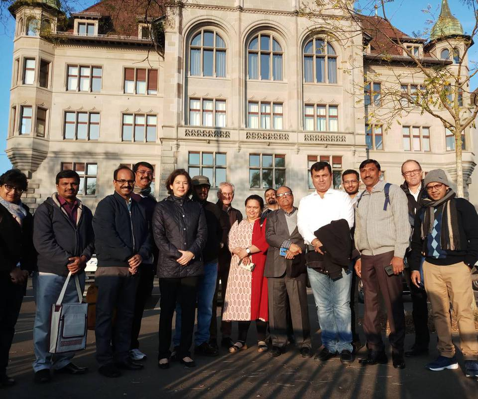 CapaCITIES Delegation in der Schweiz